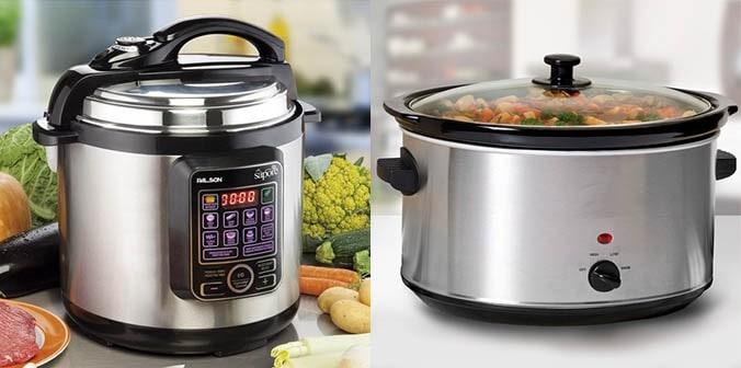 Pressure Cooker vs. Slow Cooker