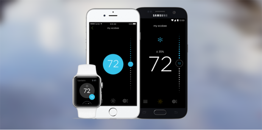 Review of ecobee3   Android app, iOS app