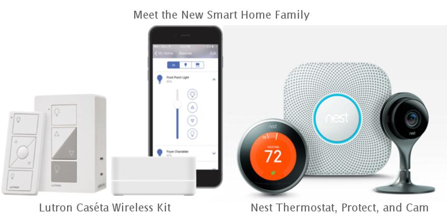 Lutron Caseta Wireless and Nest