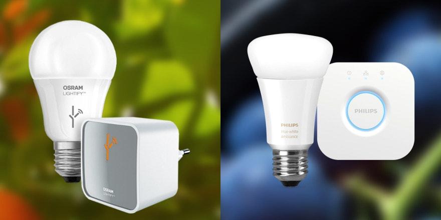 Osram Lightify vs. Philips Hue