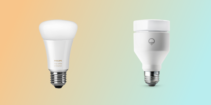 LIFX vs. Philips Hue White and Color Ambiance