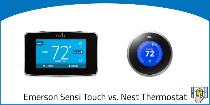 Emerson Sensi Touch vs. Nest Learning Thermostat