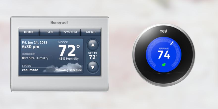 Honeywell Smart Thermostat vs. Nest