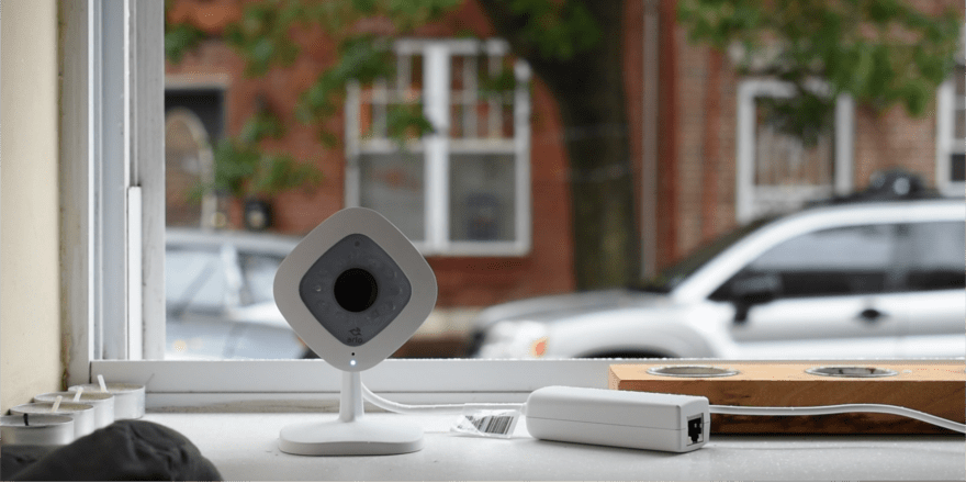 smart home power over ethernet camera
