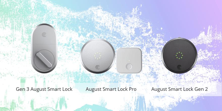 August Smart Lock vs Pro vs Gen 2
