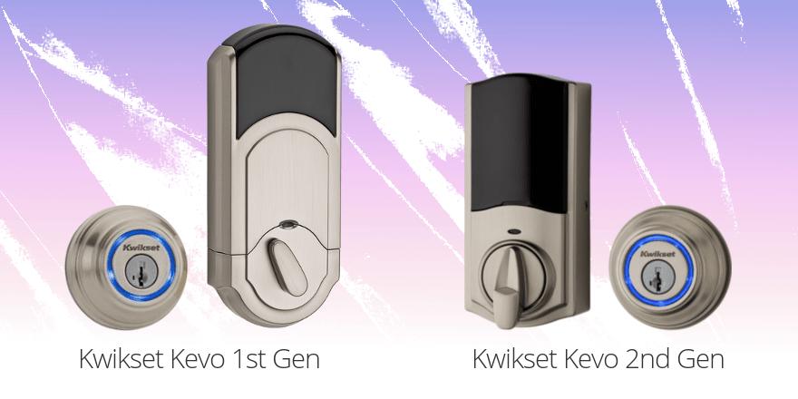 Kwikset Kevo Gen 1 vs Gen 2
