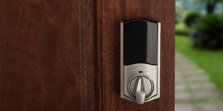 Kwikset Kevo Lock Touch to Open Interior