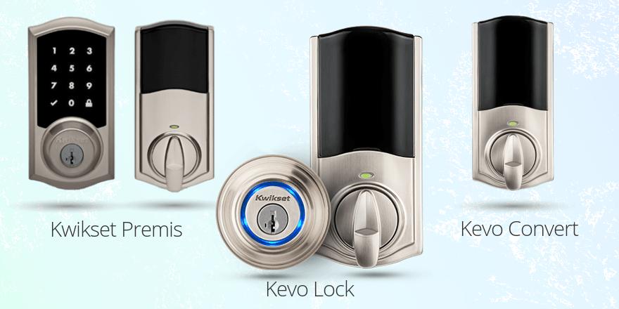 Kwikset Premis vs. Kevo Lock vs. Kevo Convert