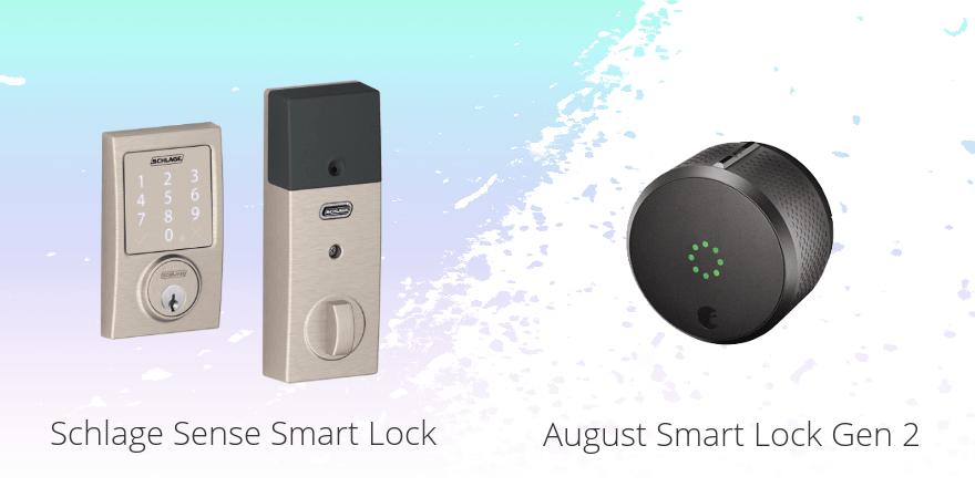 Schlage Sense vs. August Smart Lock Gen 2