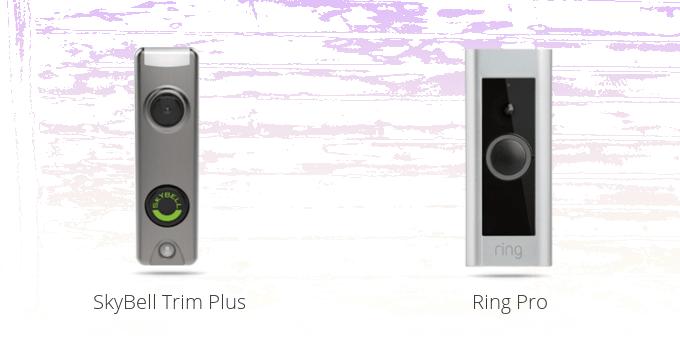 SkyBell Trim Plus vs. Ring Pro