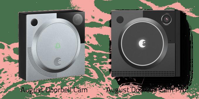 August Doorbell Cam vs. Pro