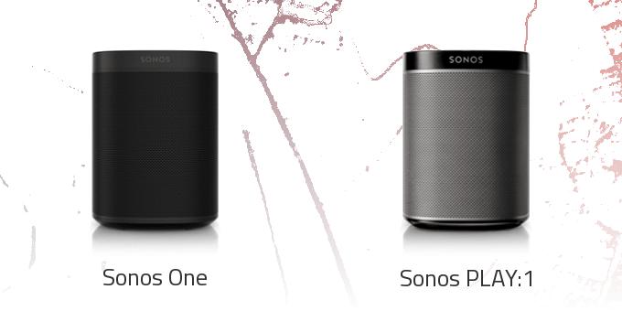 Sonos ONE vs. Sonos PLAY:1