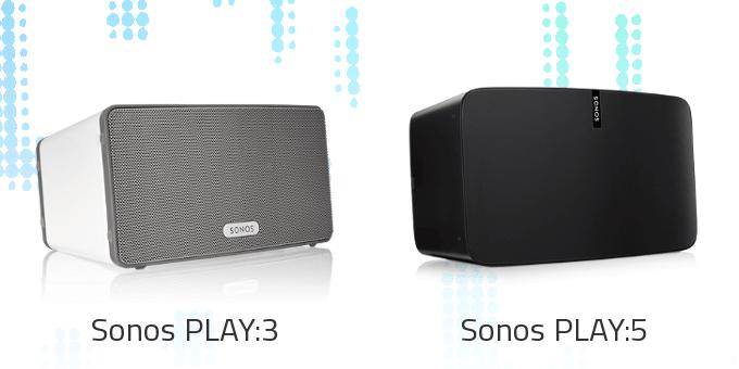 Sonos PLAY:3 vs. PLAY:5