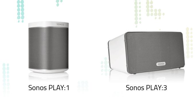 Sonos PLAY:1 vs. PLAY:3