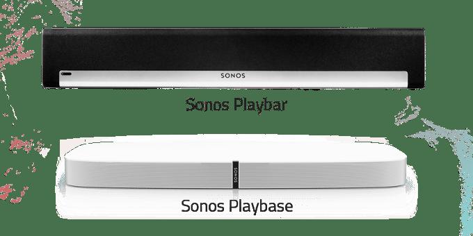 Sonos Playbase vs. Playbar