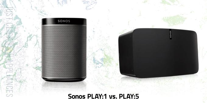 Sonos PLAY:1 vs. PLAY:5