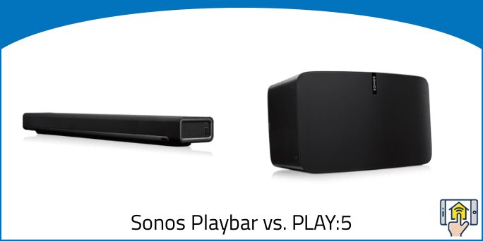Sonos Playbar vs PLAY5