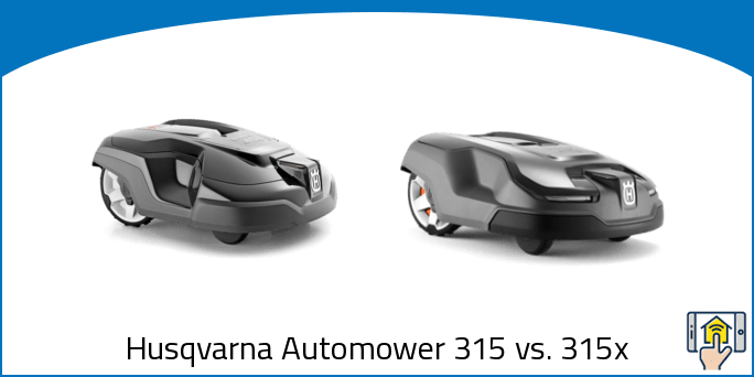 Husqvarna Automower 315 vs 315x