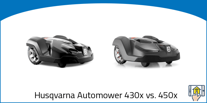 Husqvarna Automower 430x vs 450x