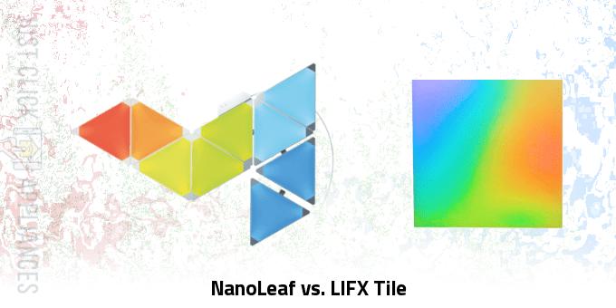NanoLeaf vs. LIFX Tile