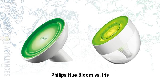 Philips Hue Bloom vs Iris