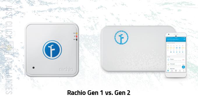 Rachio Gen 1 vs Gen 2