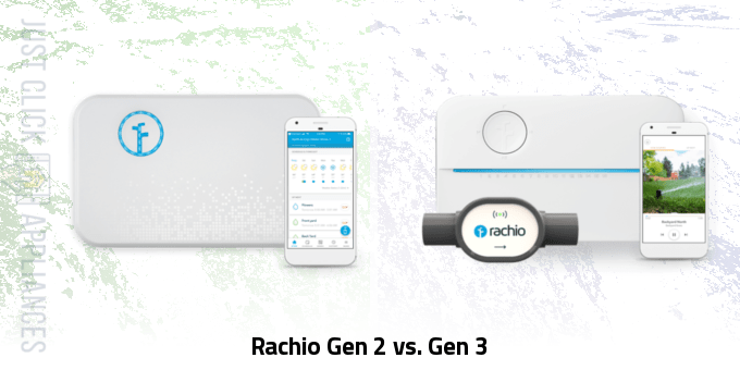 Rachio Gen 2 vs Gen 3