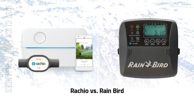 Rachio vs. Rain Bird