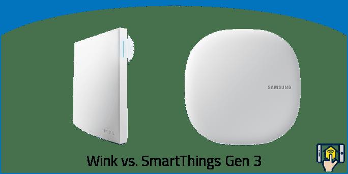 Wink vs SmartThings Gen 3