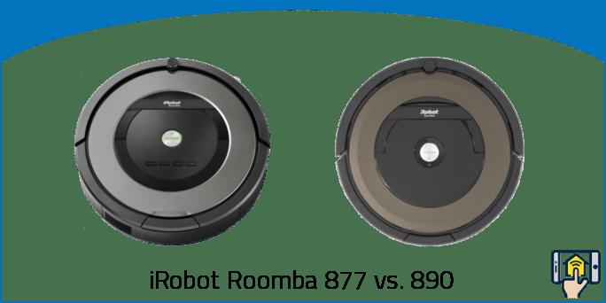 iRobot Roomba 877 vs 890