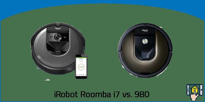 iRobot Roomba i7 vs 980