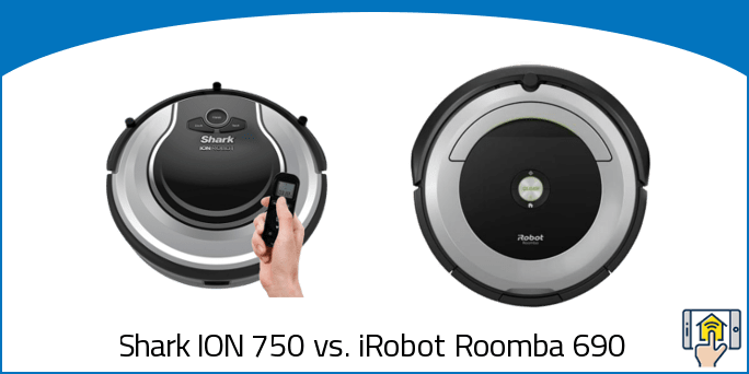 Shark ION 750 vs iRobot Roomba 690