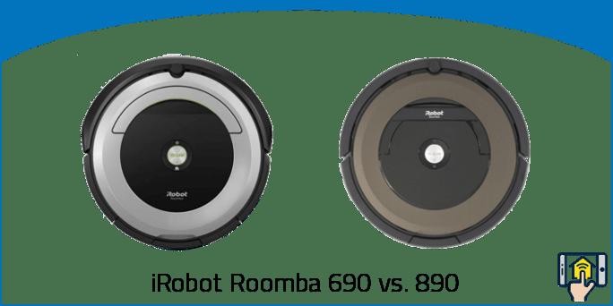 iRobot Roomba 690 vs 890