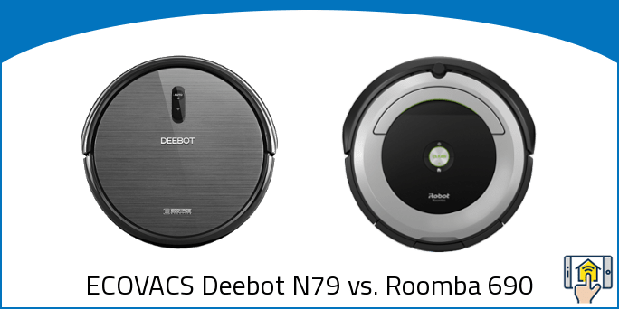 ECOVACS Deebot N79 vs. Roomba 690
