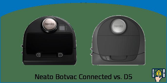 Neato Botvac Connected vs. D5
