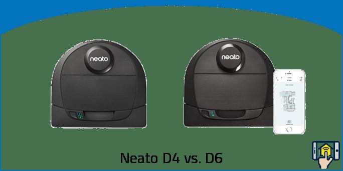 Neato D4 vs. D6