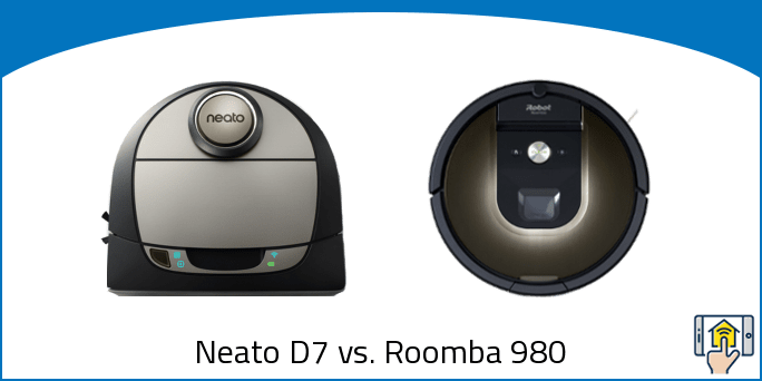 Neato D7 vs. Roomba 980