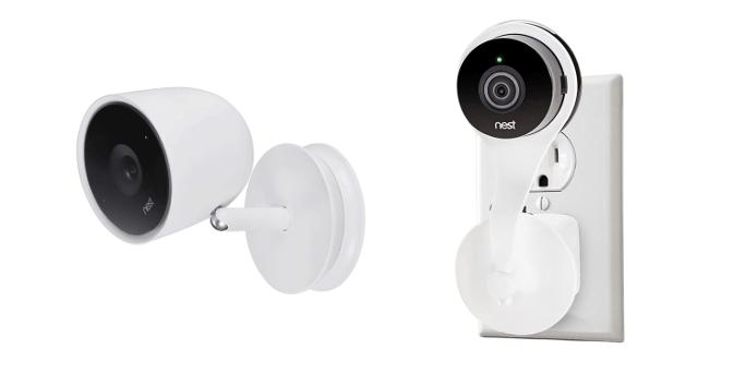 Nest Cam Indoor vs Nest Cam IQ - Accessories - Mounts
