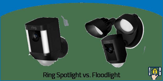 Ring Spotlight vs Floodlight
