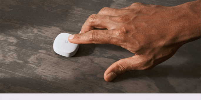 SmartThings Button Touch