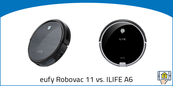 eufy Robovac 11 vs. ILIFE A6
