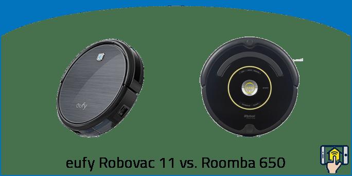 eufy Robovac 11 vs. Roomba 650
