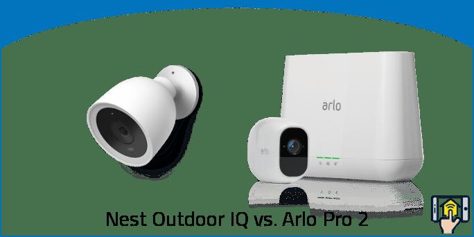 Nest Outdoor IQ vs. Arlo Pro 2