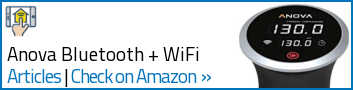 Sous Vide - Anova Bluetooth + Wifi - Widget Sides
