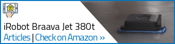 Vacuum - iRobot Braava Jet 380t - Widget Sides