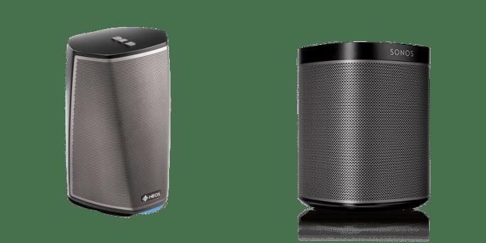 Denon Heos 1 vs. Sonos PLAY:1