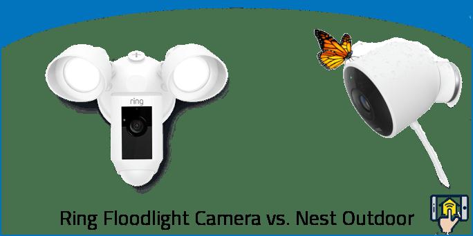 Ring Floodlight Camera vs. Nest Outdoor