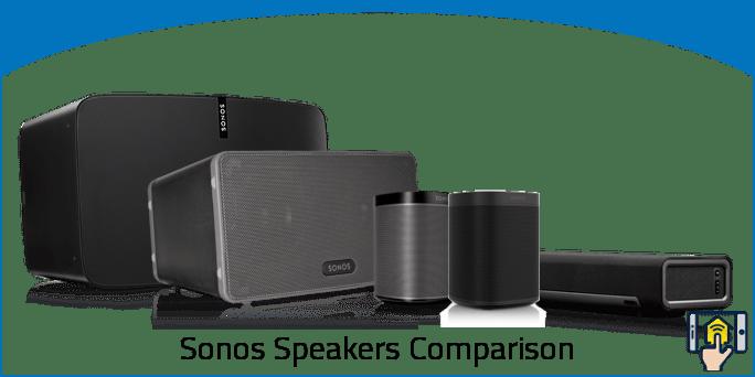 Sonos Speakers Comparison Chart