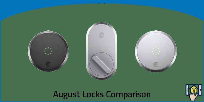 August Locks Comparison Chart & Overview