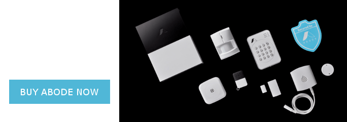 abode smart home security system kit